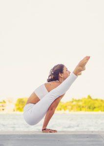 yoga teacher at Vikara retreat center