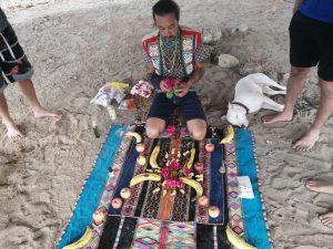Retreats ceremony at Vikara center