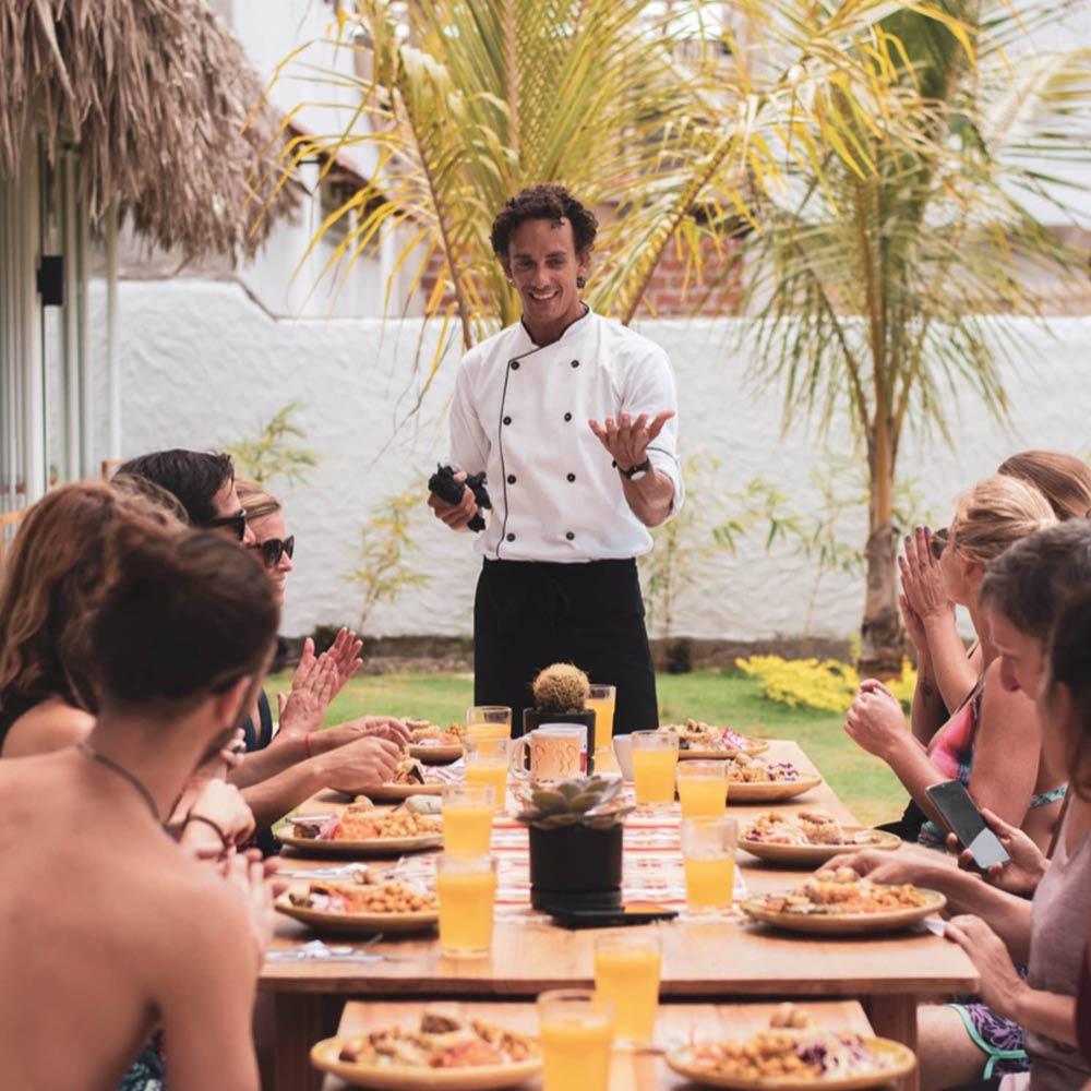 healthy food chef at Vikara Retreats