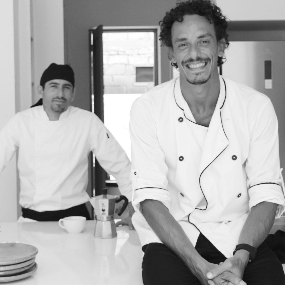 roberto is in the tribe and healthy food chef at Vikara Retreats.