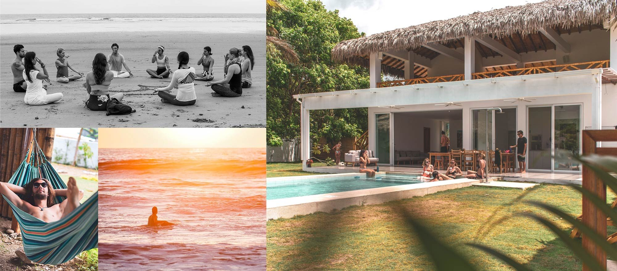 Vikara olon food healthy yoga and surf retreats