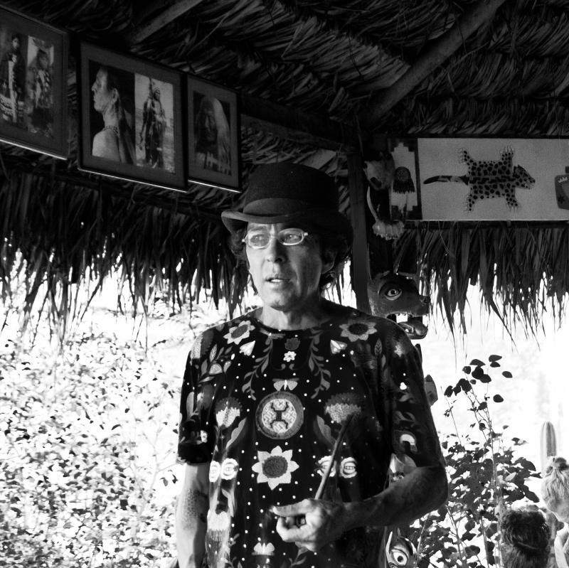 Santiago is the member of the tribe at Vikara Rereats.