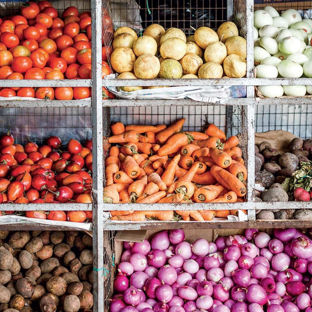 Healthy food at Vikara