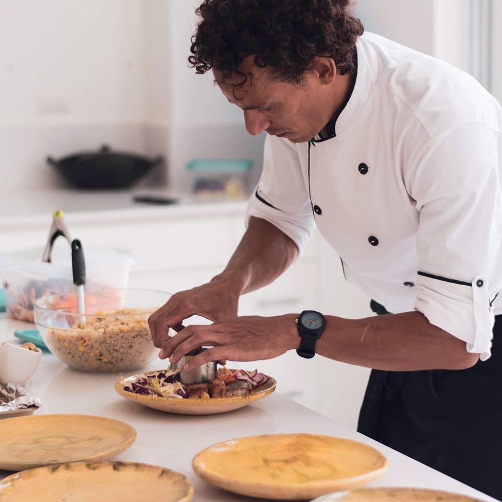 Roberto- chef at Vikara